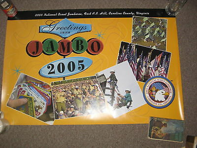 Greetings From the 2005 National Jamboree poster    j23