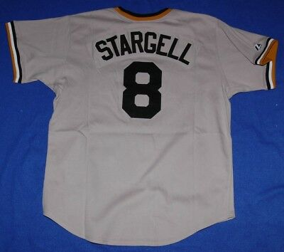 Pittsburgh Pirates Willie Stargell Cooperstown Sewn Jersey Lrg - Mlb Majestic