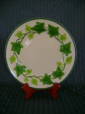 1 Dinner Plate Vintage Franciscan Usa Ivy Cream Green
