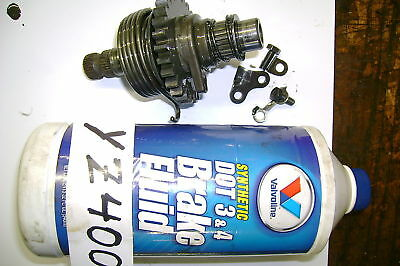 1978 - 77   Yamaha Yz400 Yz 400 Kick Start Shaft Gear
