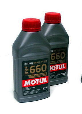 Motul Rbf 660 Racing Brake Fluid Lot (2) Wilwood Scca Us Brake Imca  Ap Scca