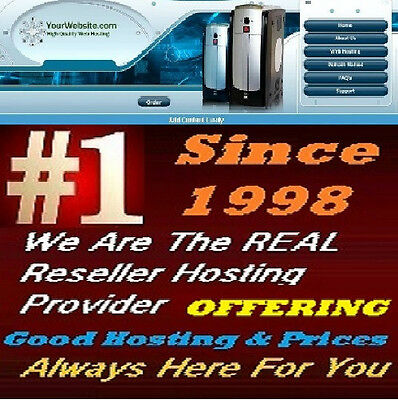 Unlimited Reseller Hosting With Free Website - Whm