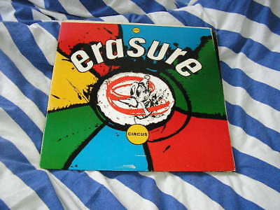 LP Pop Erasure Circus MUTE INTERCORD walkin'man