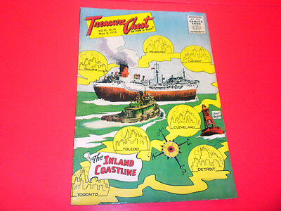 TREASURE CHEST Volume 13 #18 (1958) vintage comic book