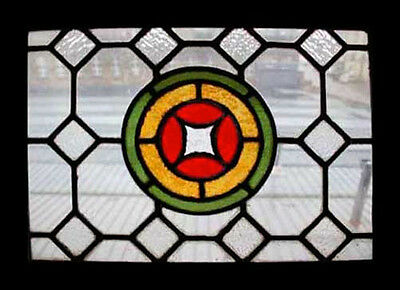 Stunning English Victorian Antique Stained Glass Window