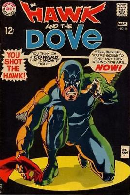 HAWK AND THE DOVE #5 Very Good, DC Comics 1969
