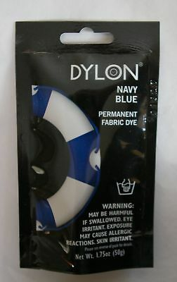 Dylon Fabric Dye Natural & Polyester Mix Sel Colors 1.75 oz