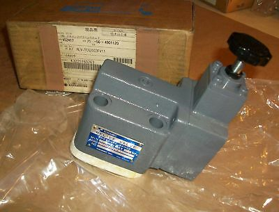 Tokimec Hydraulic Relief Valve RLV-TCG2003FV11   NEW IN BOX