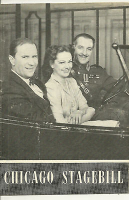 1945 Chicago Stagebill- Jacobowsky & the Colonel