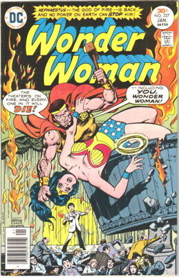 Wonder Woman Comic Book #227, DC Comics 1977 VERY FINE-
