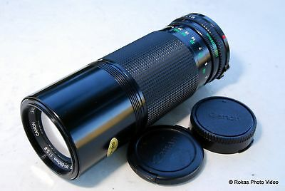 Canon 100-200mm f5.6 FD lens zoom manual focus mint