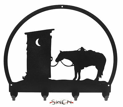 SWEN Products OUTHOUSE COWBOY HORSE Light Switch Plate Covers