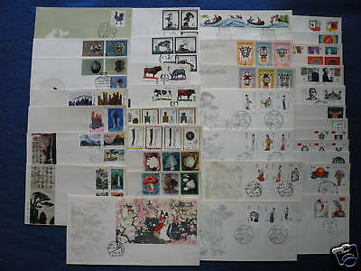 P.R.China.1981 Complete Year Set FDC