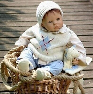 ZAPF Collectible RETIRED Baby Paul - Brand New! *SALE* OVER 50% OFF!