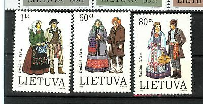 Costumi Tipici - Typical Costumes Lithuania 1993