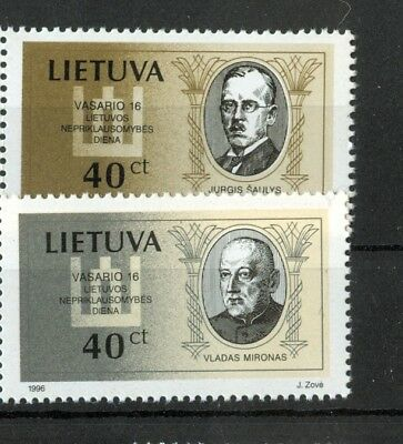 PERSONALITA' - PERSONALITY LITHUANIA 1996 Independence