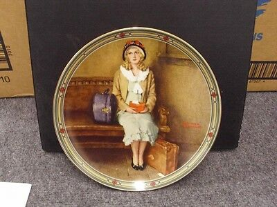 Knowles Rockwell Plate A YOUNG GIRLS DREAM NEW W/ COA