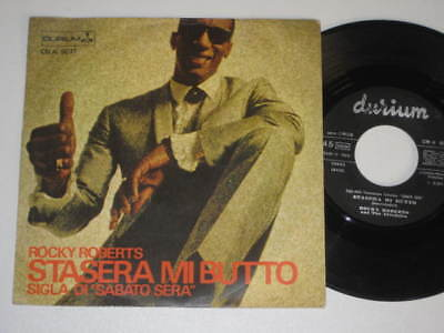 """7""""/rocky Roberts And The Airedales/stasera Mi Butto"""