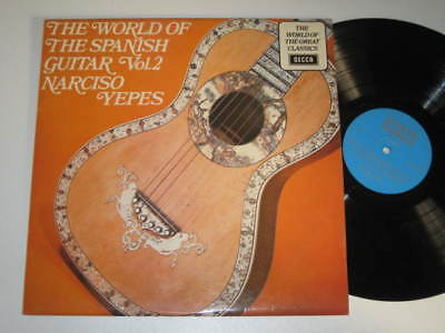 Lp/narciso Yepes/the World Of The Spanish Guitar 2