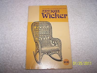 Antique Wicker Collector's Illustrated Price Guide 1977