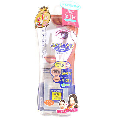 d-up Japan Wonder Double Eyelid Tape (120 pieces) Extra Strong - Award No.1