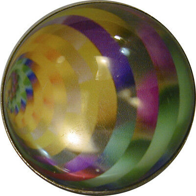 """1"""" Magic Marble Crystal Dome Button #23 Med Dome FREE US SHIPPING"""