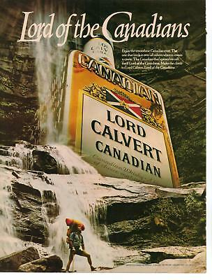 Vintage 1988 Lord Calvert Canadian Whiskey Magazine Advertisement Ad Page