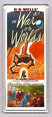THE WAR OF THE WORLDS movie poster LARGE FRIDGE MAGNET