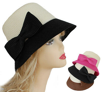 Cloche Bell Retro Vintage Great Gatsby Style 20's 20s Costume Flapper Sun Hat