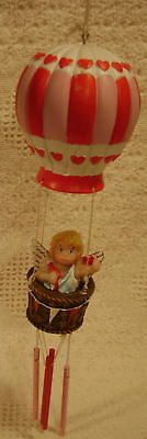New Adorable Cupid Hot Air Balloon Windchime Wind Chime 2488