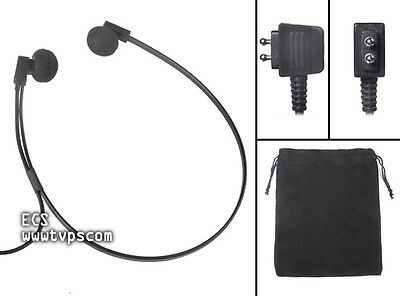 Spectra DP SPDP Twin Speaker Underchin Transcription Headset for Dictaphone