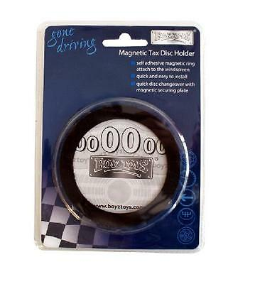 Tax Disc Holder Boyz Toyz Gone Driving Car Magnetic Windscreen Parking Permit