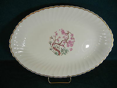 """Syracuse China Spring 12"""" Oval Serving Platter"""