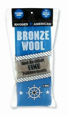 Bronze Wool 3 Pad Pack - Fine