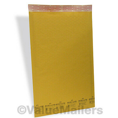 50 #5 10.5x16 Kraft ^ Bubble Mailers Padded Envelopes
