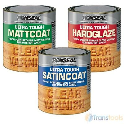 Ronseal Ultra Tough Polyurethane Varnish