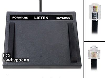 Lanier LX-1028 LX1028 Transcription Foot Pedal Lanier VoiceWrite