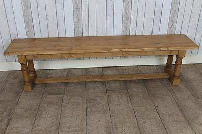7Ft Pine Bench / Hall Bench / Kitchen Bench