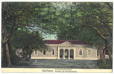 Quelimane, Governement Offices Zambezia AFRICA Postcard