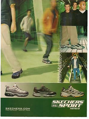 2000 Skechers Sport Footwear Shoes Magazine Advertisement Ad Page