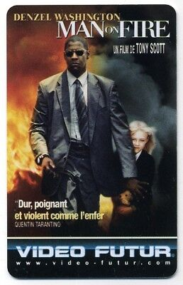 VIDEO FUTUR  collector  MAN ON FIRE     (273)