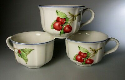 Villeroy & Boch Cottage Round (SET OF 3) Cups NEW