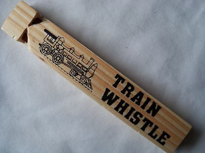 """Wooden Train Whistle 7"""""""