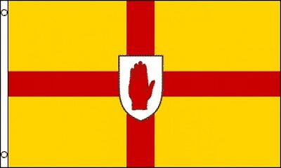 3x5 Ulster Flag Red Hand Banner Northern Ireland Gaelic Cross Burgh O'neill New