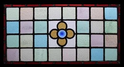 Stained Glass Window English Victorian Rondel
