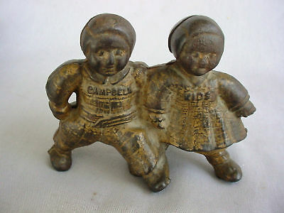 Fine A.C. Williams Campbell Kids Cast Iron Still Bank