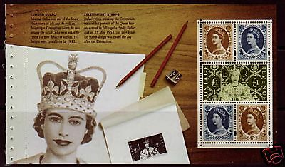 Great Britain 2003 Coronation Unmounted Mint Booklet Pane