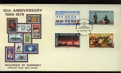 Guernsey 1979 Post Office FDC