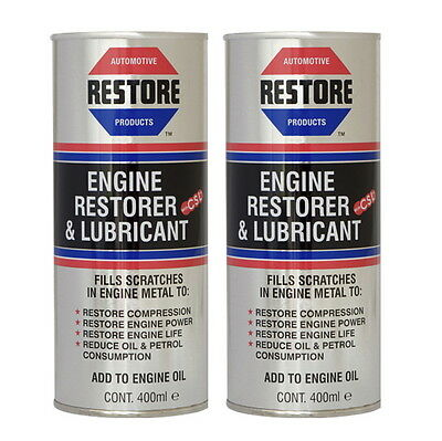 Try AMETECH ENGINE RESTORE OIL - AUDI A8 AVANT TT QUATTRO COUPE - 2 x 400ml cans