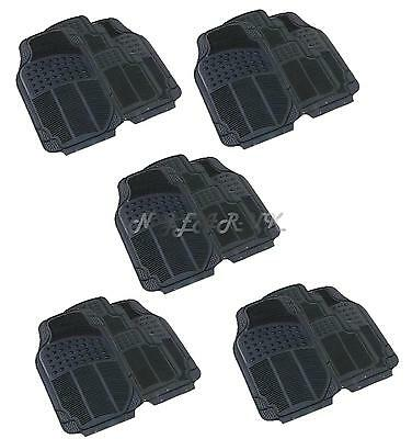 HEAVY DUTY universal car mats RUBBER Trade Wholesale garage car sales taxi  x5
